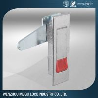 Fire cabinet door lock
