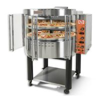 Rotating Pizza Gas Oven