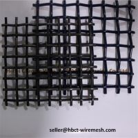 Crimped Woven Wire Mesh , Wire Vibrating Screen Mesh For Stones And Gravels thumbnail image