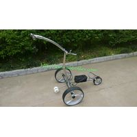 Noble stainless steel remote golf trolley 007R features