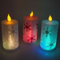 christmas led candle lights, holiday candle light