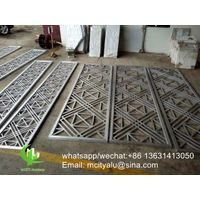 metal aluminum screen for room divider