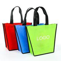 Non-woven Tote BagNon Woven Tote Grocery Bag Custom Woven Tote Bag wholesale thumbnail image