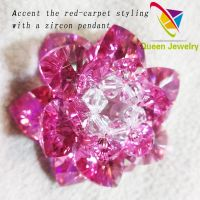 fashion crystals from Swarovski crystal flower sacred geometry pendants brooch high quality jewelry