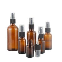 Newest Amber Essential Oil Glass Bottle with Sprayer thumbnail image