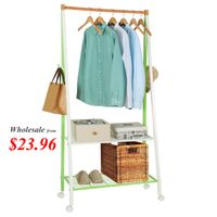 Lifewit Multipurpose Rolling Clothes Rack