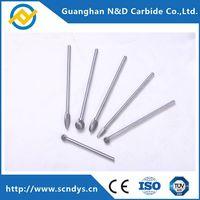 High Performance Heavy Alloy Tungsten Carbide Rotary Files, Long Shank Carbide Burs