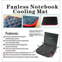 electricity free self cool fashion design laptop thermal cooling pad thumbnail image