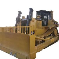 lower working hours used second hand cat caterpillar dozer D7 bulldozer with ripper on sale thumbnail image