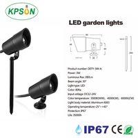 3W COB Garden Lights DC12V 24V Landscape Spike Light IP67 Pathway Garden Lawn Light thumbnail image