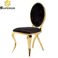modern cheap wholesale velvet leather stainless steel living room dining chairs thumbnail image