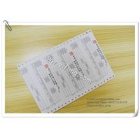 NCR paper carbonless continuous Registration Form printing thumbnail image