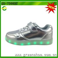China factory wholesaler led shoes kids