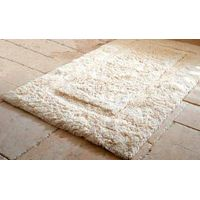 100% COTTON HEAVY WEIGHT BATH MAT WITH NON-SLIP LATEX BACKING