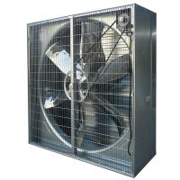 36 inch box type galvanized frame greenhouse ventilation exhaust fan