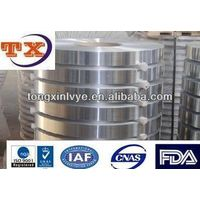 Both Sides Clear Lacquer Aluminium Strip For Vial Seal