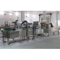 Industrial semi-automatic muffin cake production line--YuFeng