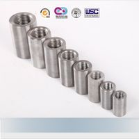 steel bar mechanical rebar splicing coupler