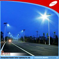 2016 Nande solar street LED light with CCC certificate thumbnail image