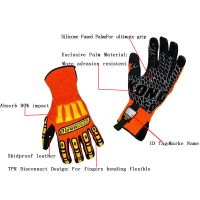 Ironclad Kong Ipwsdxg04L (Waterproof Skidproof) Impact Protection Gloves Oil and Gas Industry Gloves