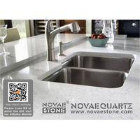 luxor grigio white quartz vanity tops