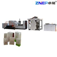 ZD-F330Y ZNEP New food shopping Square Bottom Paper Bag Making Machine with inline printing function thumbnail image