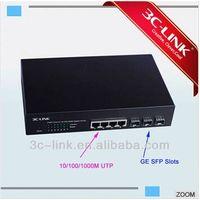 3c-link factory supply fiber to rj45 converter sfp media converter thumbnail image