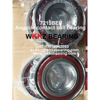 7215BEP angular contact ball bearing,WKKZ BEARING,China bearing