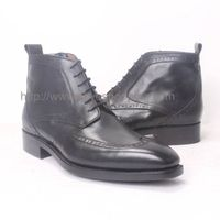 Lace Up Business Ankle Men's Boots In Goodyear Craft thumbnail image