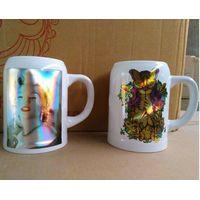 laser foil printing   Beer Mug