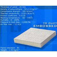 PU Pre-insulated Duct Panel with Coating and Glue thumbnail image