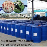 Biocide glutaraldehyde solution pharma disinfectant