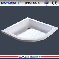 New arrival drop in fiberglass basin with anti slip for wholesale