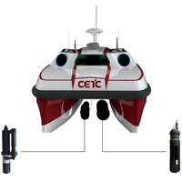 Water quality sampling monitoring unmanned surface vessel USV thumbnail image