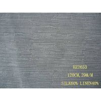 silk/linen fabric:HZ2653
