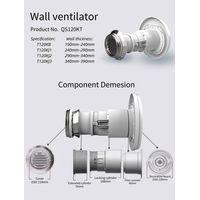 Wall mounted balanced ventilation Air inlet filter thumbnail image