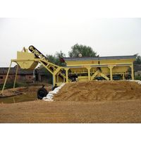 YWBS series mobile stabilized soil mixing plant