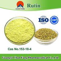 Sophora japonica extract food grade and medical grade rutin cas no.153-18-4