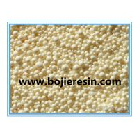 Vitamin extraction, refined ion exchange resin