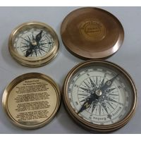 nautical brass compasses thumbnail image