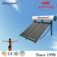 compact flat solar water heater thumbnail image