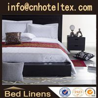 100%cotton hotel bed linen bed sheet