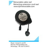 wholesale durable power spring extension cord reel retractable