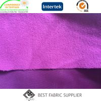 100% Polyester Clinquant Velvet 150-260GSM School Uniform Sportswear Fabric