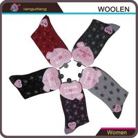 Women Patterned Dressing Socks woolen socks