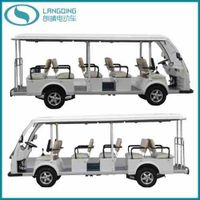 CE Electric Car Sightseeing Passenger Bus with Gearbox (LQY140AN)
