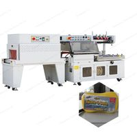automatic l-type clothes shoe box sealing and cutting machine