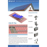 New Solar Tile Roof Hook Of Solar Panel Mounting System