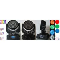 ZOOM 36pcs 10W RGBW LED moving head light thumbnail image
