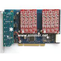 TDM800P 8 port asterisk card with 8FXO compatible digium for elastix trixbox